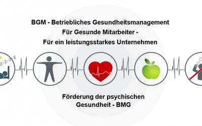 Betriebliches Gesundheitsmanagement – BGM